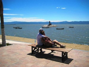 grootste meer in Mexico Chapala Jalisco