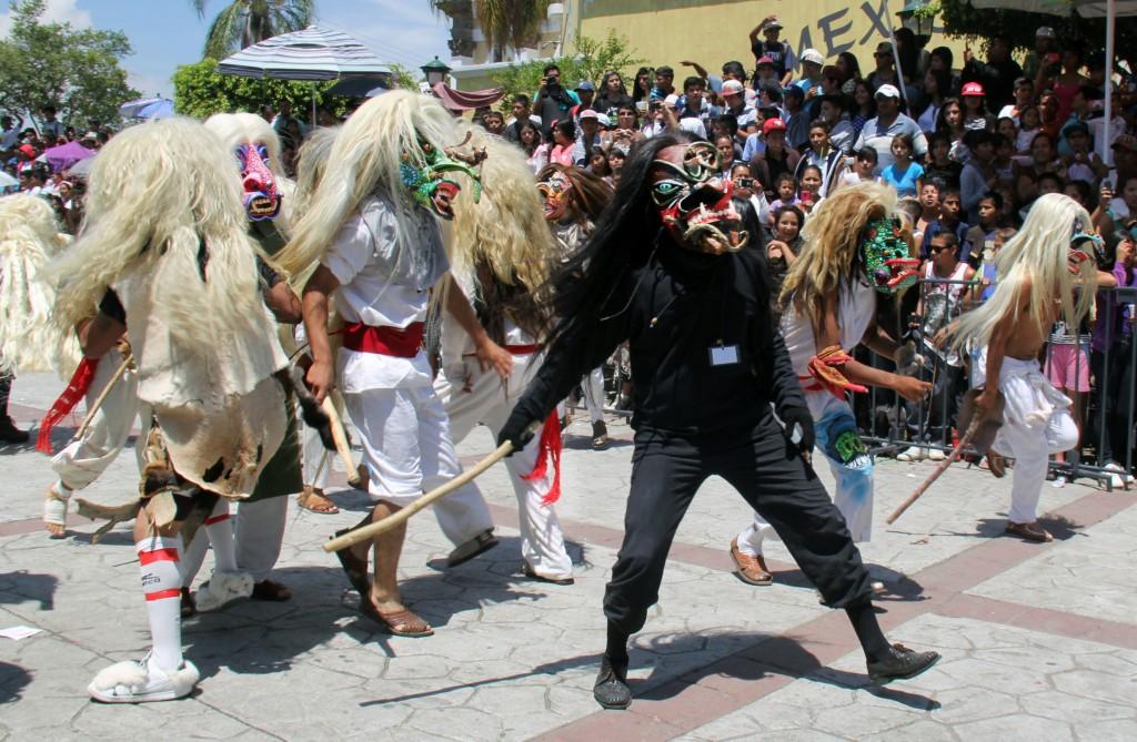 Held sedan kolonialtiden, utgör det en triumf för inhemska Chimalhuacanos på erövrarna,