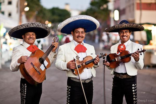 Plaza Fundadores mariachi guadalajara jalisco mexico