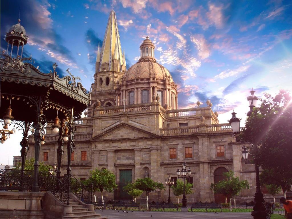 Catedral de Guadalajara.