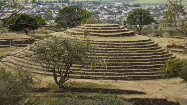 Pirámides circulares de Guachimontones