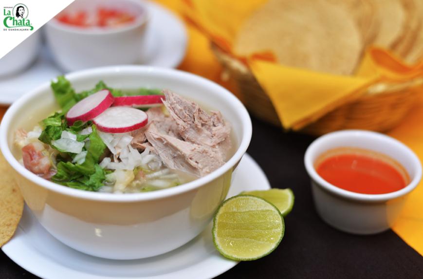Pozole Tapatio es uno de los Cinco platillos típicos de Guadalajara Jalisco Mexico comida tradicional jalisciense